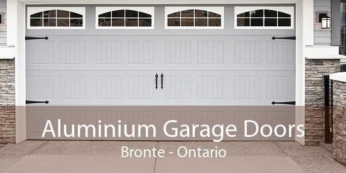 Aluminium Garage Doors Bronte - Ontario