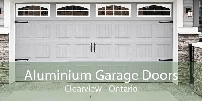 Aluminium Garage Doors Clearview - Ontario
