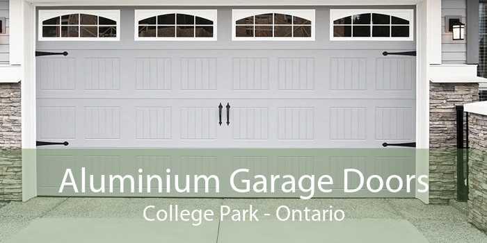Aluminium Garage Doors College Park - Ontario