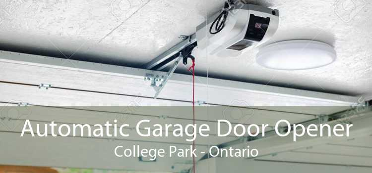 Automatic Garage Door Opener College Park - Ontario