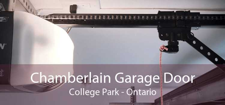 Chamberlain Garage Door College Park - Ontario