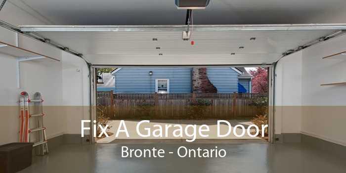 Fix A Garage Door Bronte - Ontario
