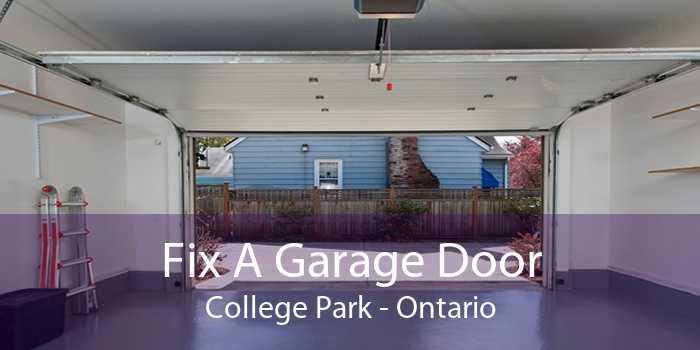 Fix A Garage Door College Park - Ontario