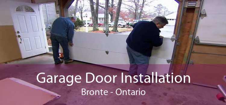 Garage Door Installation Bronte - Ontario