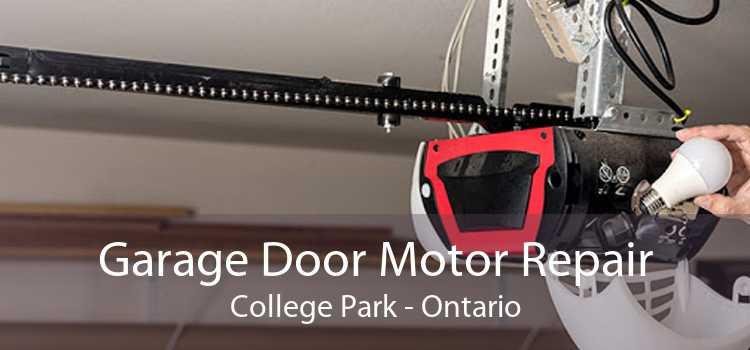 Garage Door Motor Repair College Park - Ontario