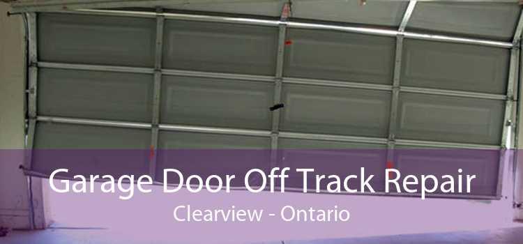 Garage Door Off Track Repair Clearview - Ontario