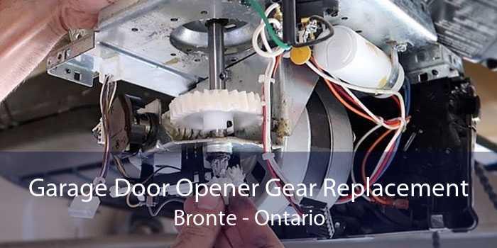 Garage Door Opener Gear Replacement Bronte - Ontario