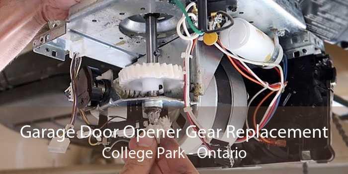 Garage Door Opener Gear Replacement College Park - Ontario