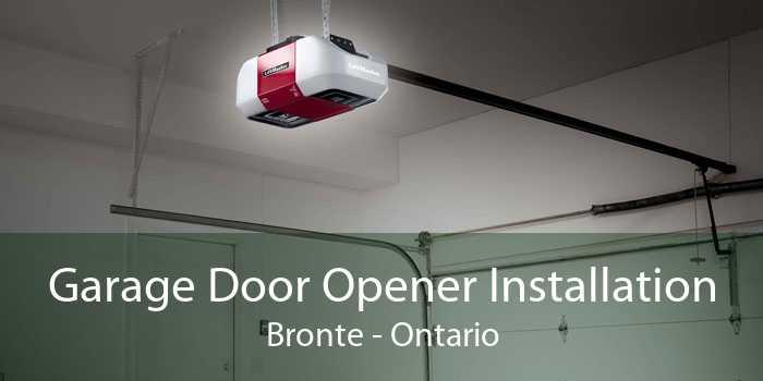 Garage Door Opener Installation Bronte - Ontario