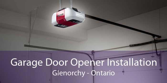 Garage Door Opener Installation Glenorchy - Ontario
