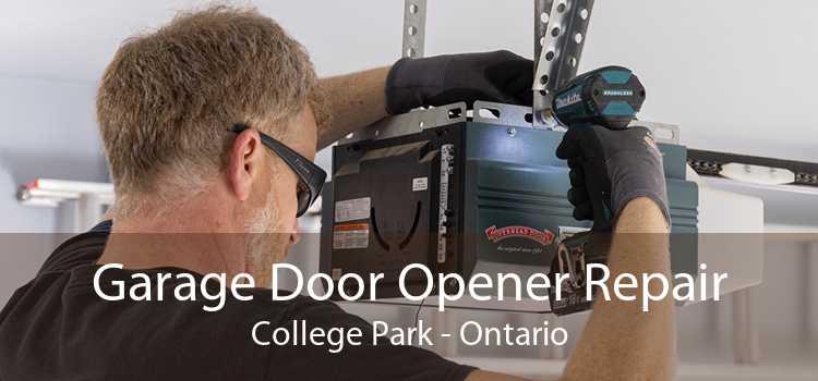 Garage Door Opener Repair College Park - Ontario