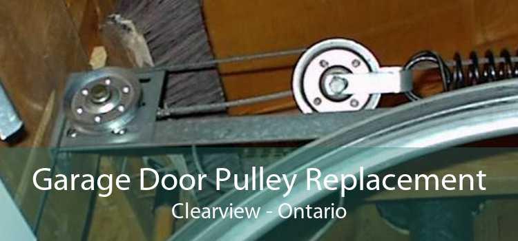Garage Door Pulley Replacement Clearview - Ontario