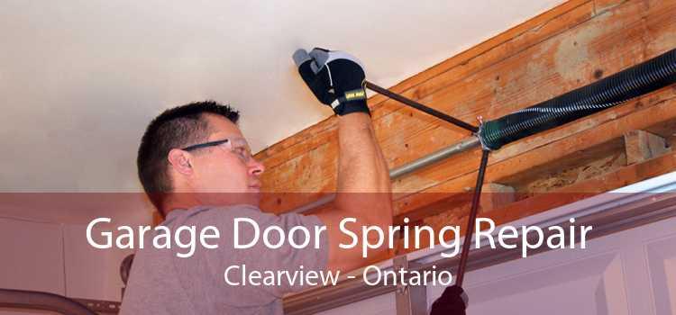 Garage Door Spring Repair Clearview - Ontario