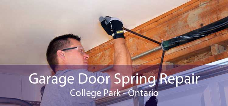 Garage Door Spring Repair College Park - Ontario