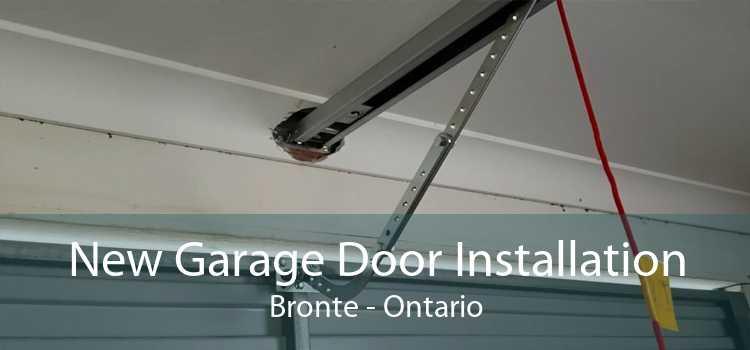 New Garage Door Installation Bronte - Ontario