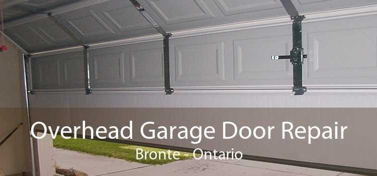 Overhead Garage Door Repair Bronte - Ontario