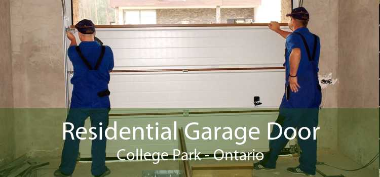 Residential Garage Door College Park - Ontario