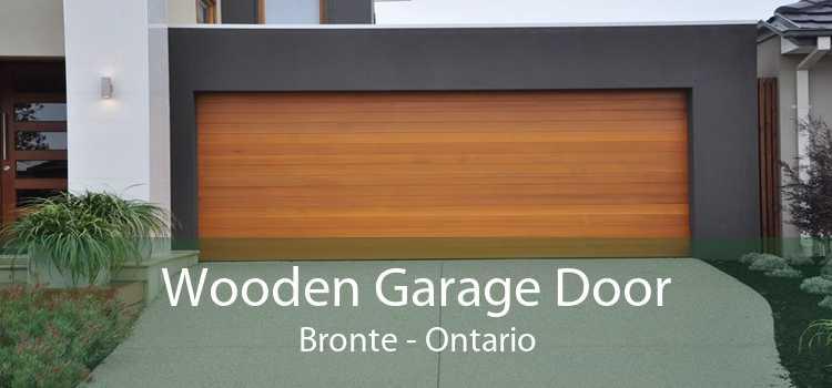 Wooden Garage Door Bronte - Ontario