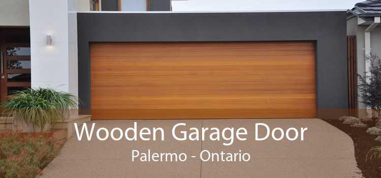 Wooden Garage Door Palermo - Ontario